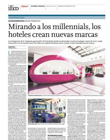 11Diario Clarin Suplemento IECO Mirando a los millennials