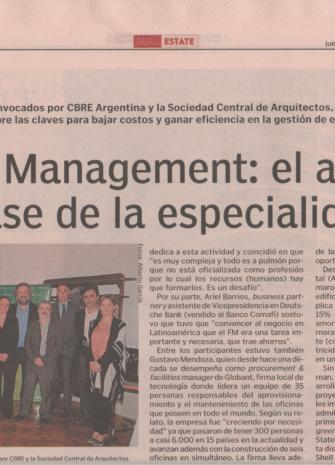 2Diario Cronista Facility Management