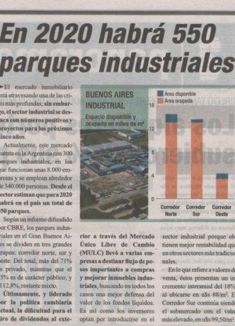 5Diario Ambito Financiero Parques Industriales