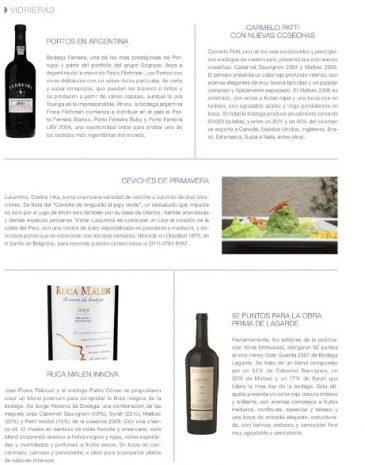 5Revista Wine + B Portos en Argentina