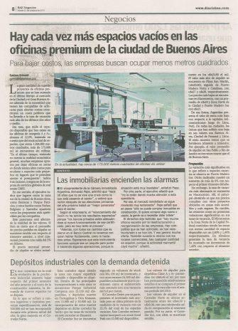 6Diario Buenos Aires Económico Vacancia Oficinas Premium
