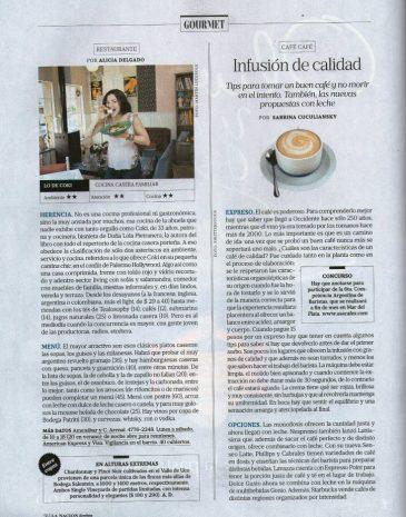 6Diario La Nación Cafe Cafe Infusión de calidad