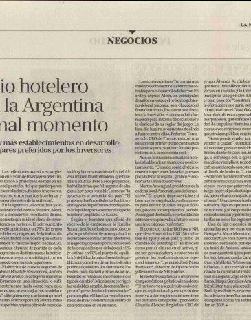 NO ME LO TOMA 9Diario La Nación El negocio hotelero